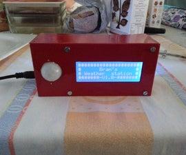 Arduino weather station.