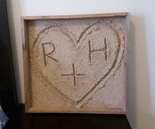 Sand Art (Valentines Day)