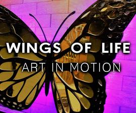 3 Feet Huge Butterfly - Art Installation