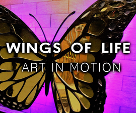 Wings of Life - Art in Motion