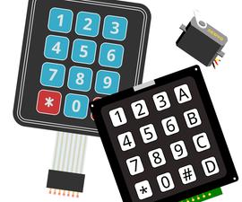 Arduino - Keypad-Controlled Servo