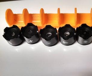 3D Printable WickedLasers Lens Holder