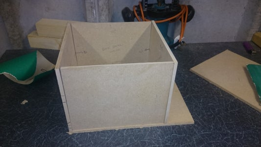 Building the Enclosure and Component Placement Preparation