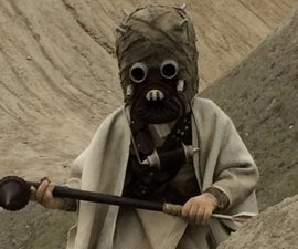 Child size Tusken Raider costume