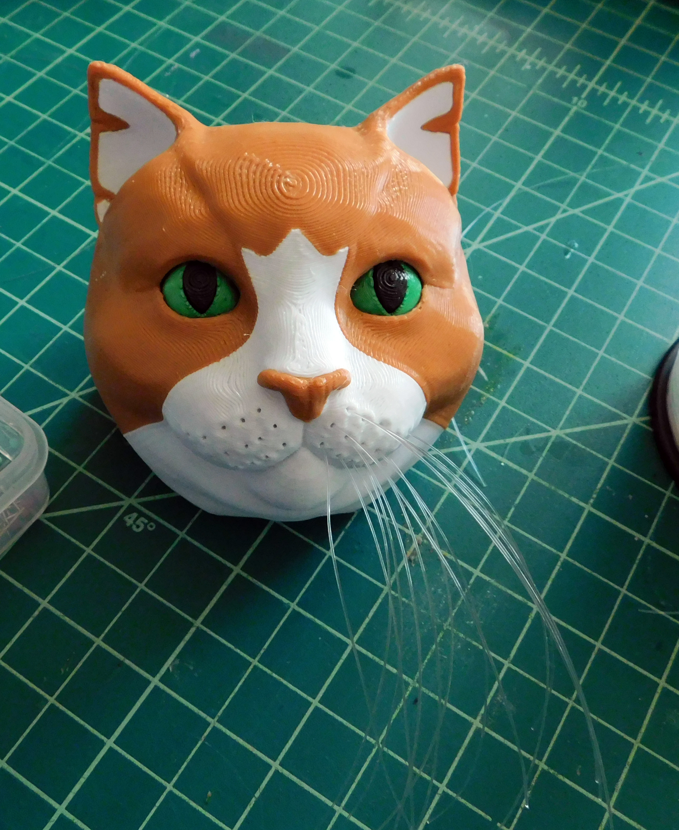 Picture of Model Assembly: Whiskers
