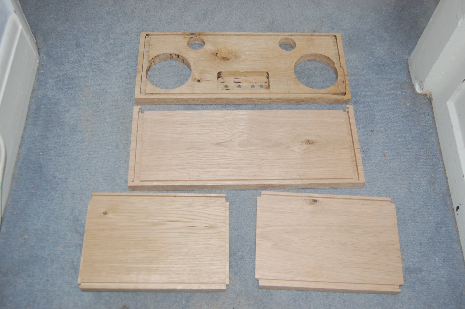 Picture of Finish Constructing the Cabinet