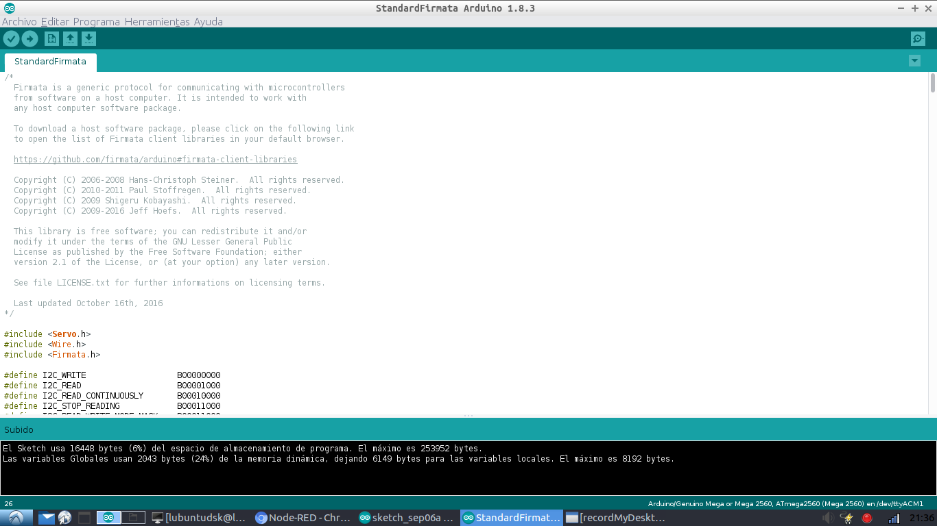 Picture of Upload Firmware Firmware From Arduino IDE