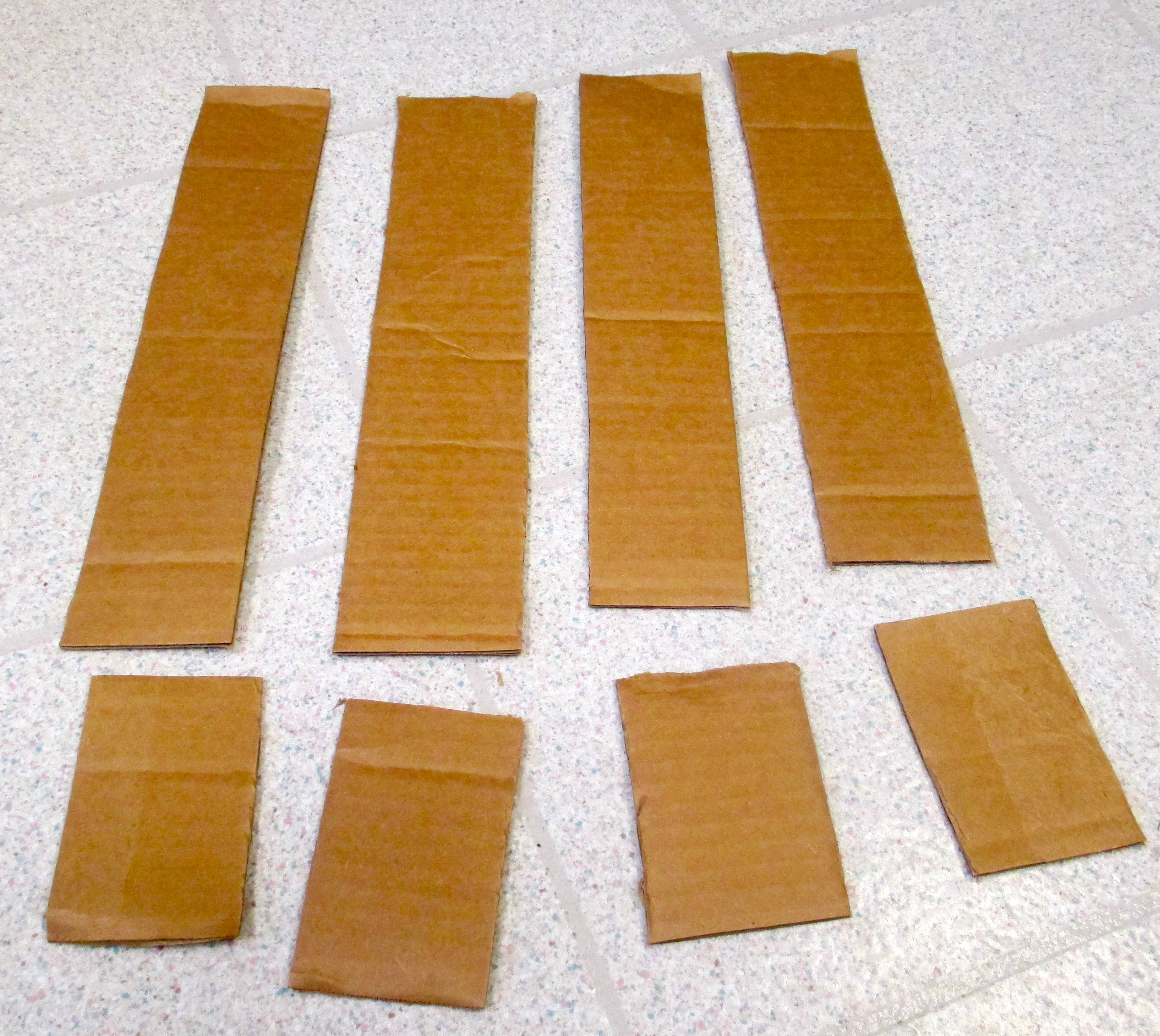 Picture of Measure the Storage Space and Cut Frame Strips.