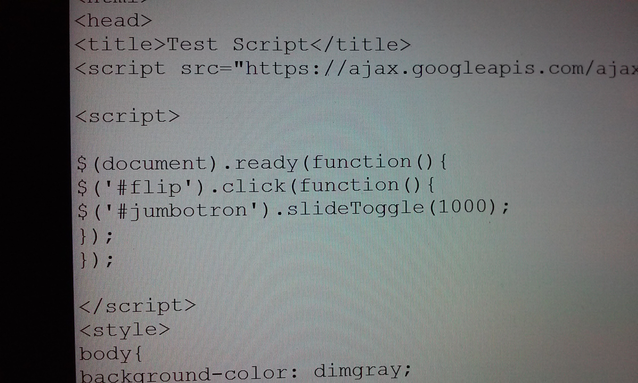 Picture of Include Our Script