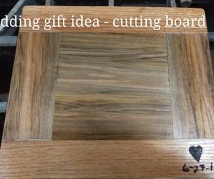 Wedding Gift- Cutting Board