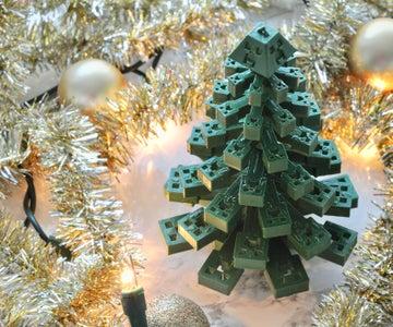 3D Printed Creeper Christmas Tree
