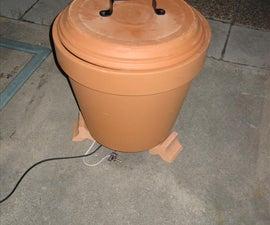 Flower Pot Smoker (Improved Lid)