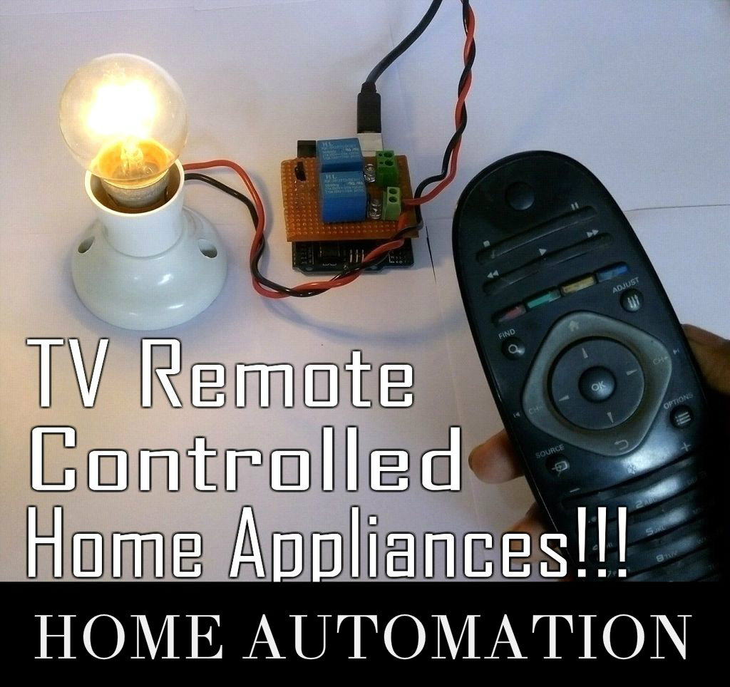 Picture of Control Your Home Appliances With TV Remote!!