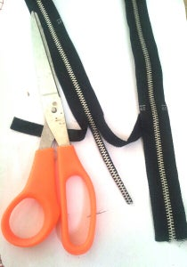 Zippers for Inlay