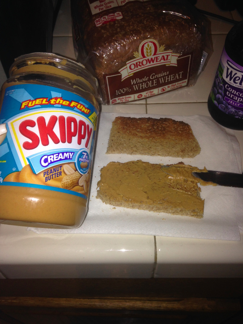 Picture of ADDING PEANUT BUTTER