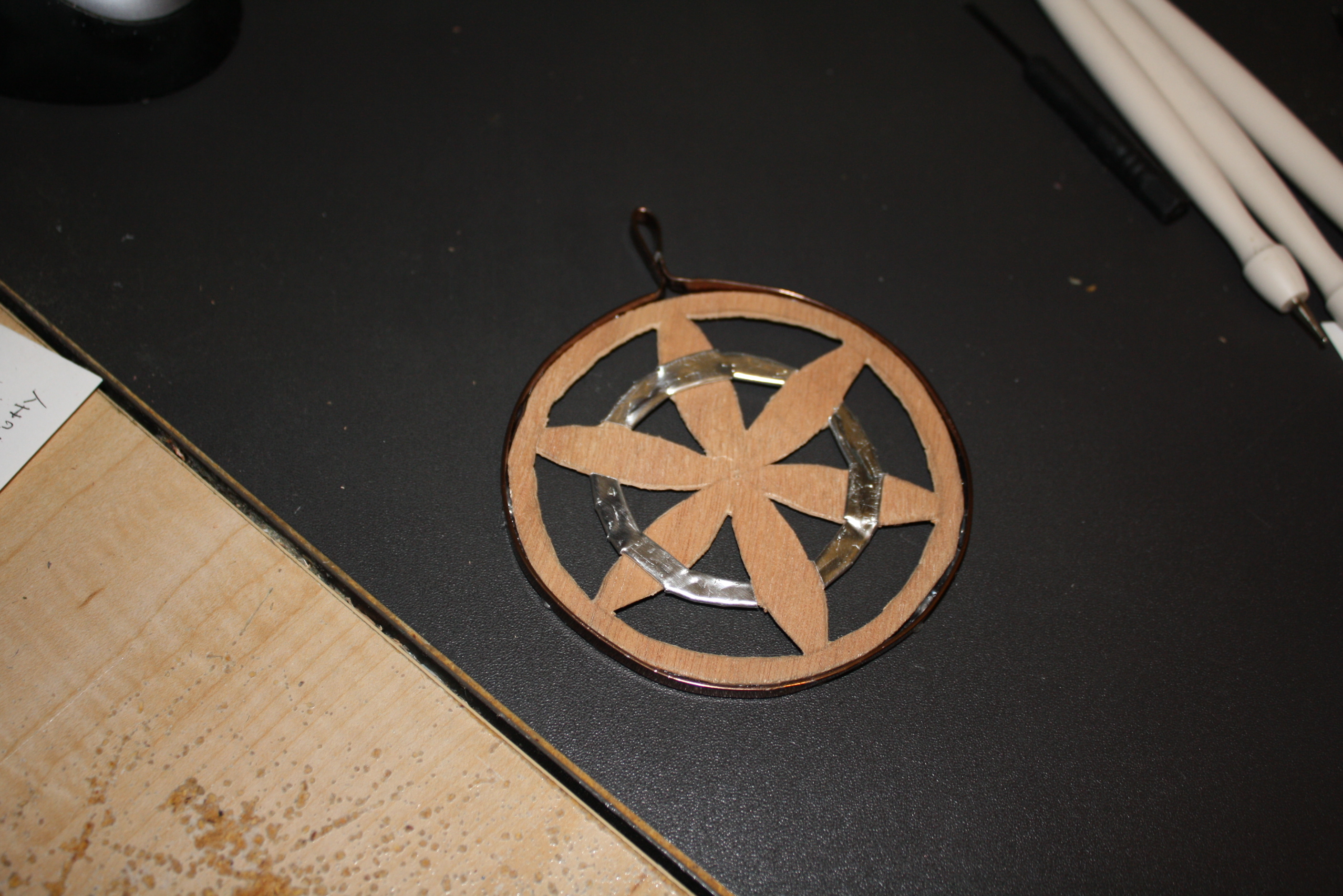 Picture of Cherry Wood Ornament