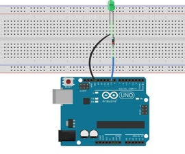 LED Blinking With Arduino Uno R3
