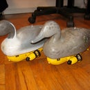 R/C Paradox - a pair of radio controlled duck decoys