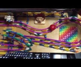 Desk Toy - a Knex Ball Machine