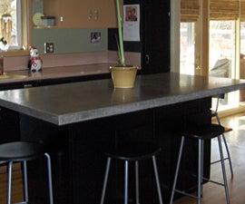 Basic Concrete Countertop