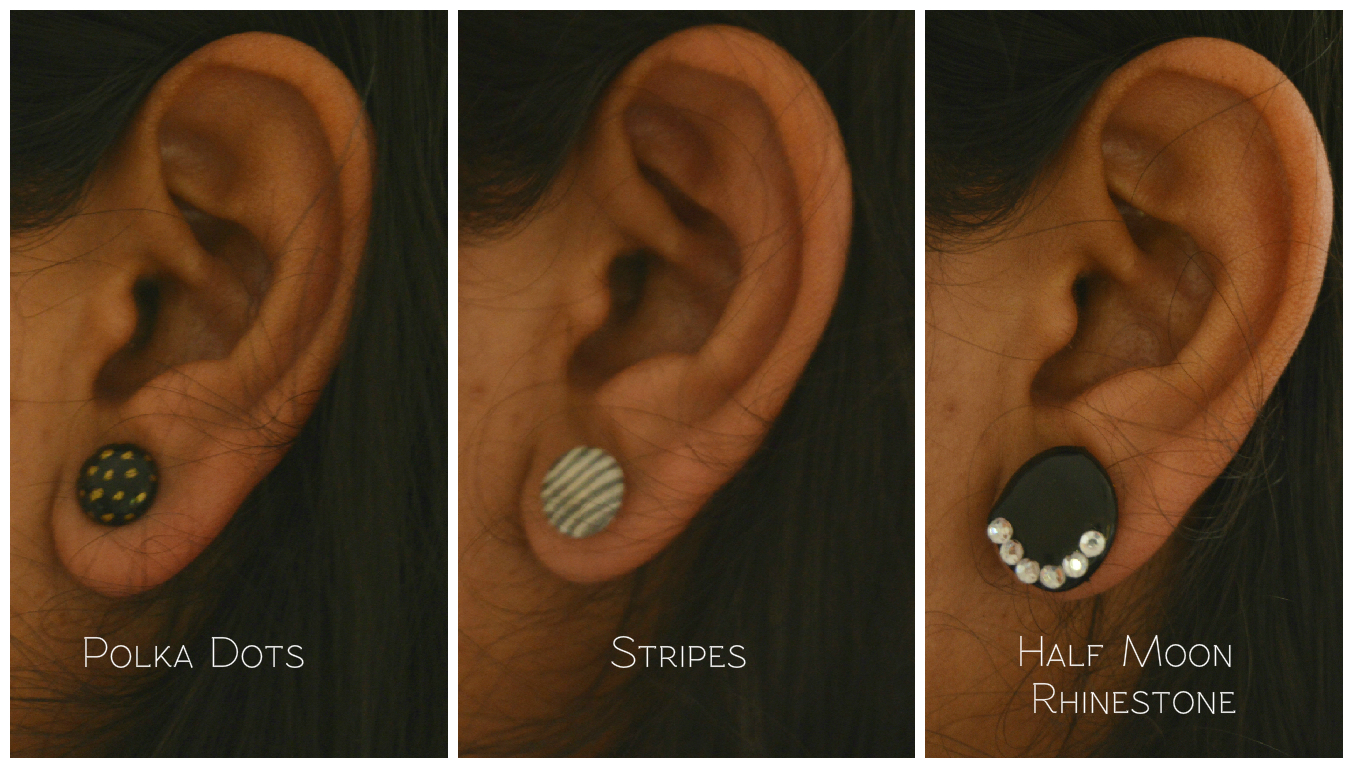 Picture of Look of the Earrings When I Wore