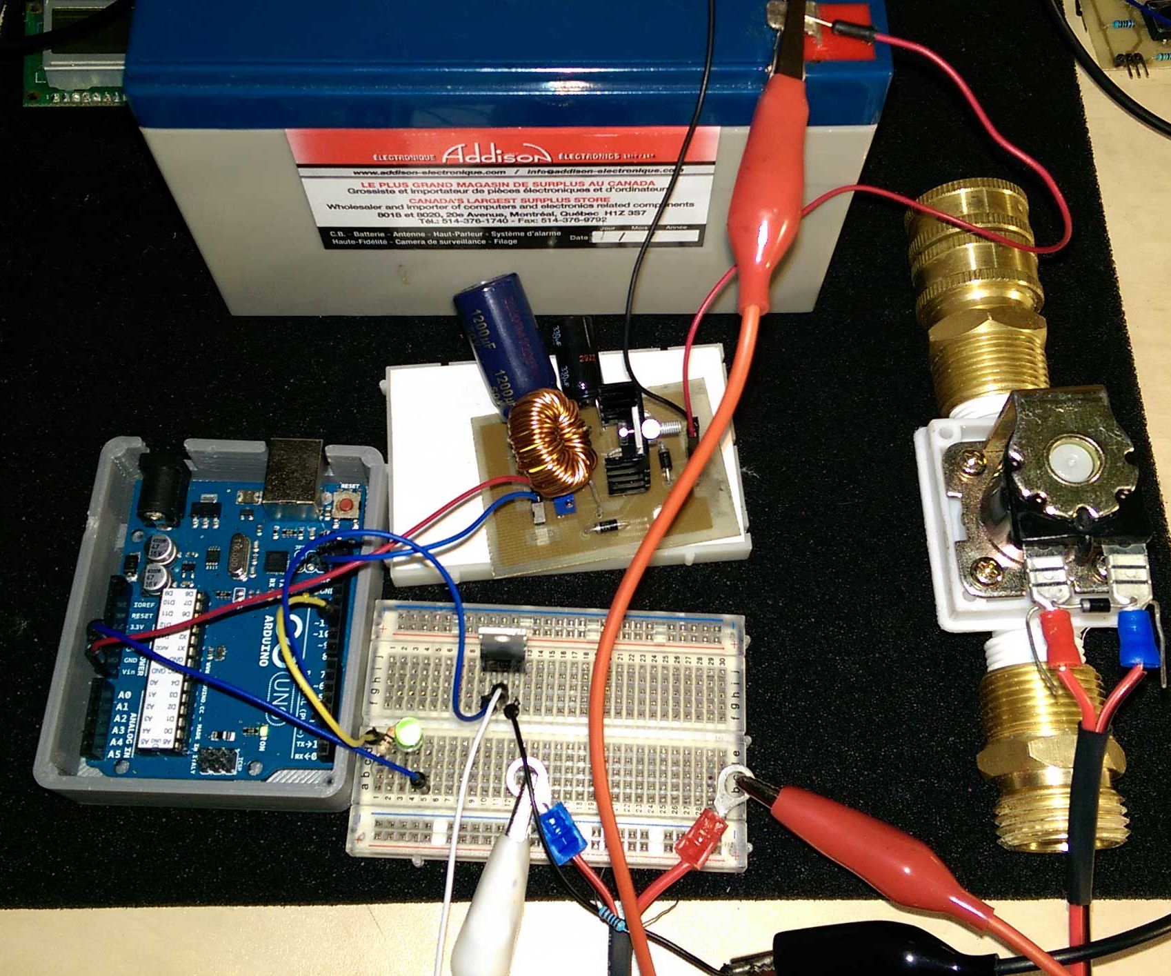 Controling a Solenoid Valve With an Arduino: 7 Steps