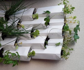 Tetra Brik Modular Wall Planter