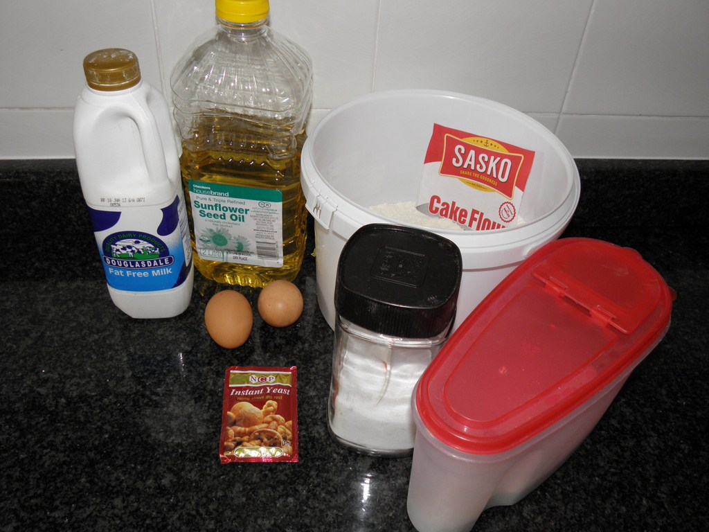 Picture of INGREDIENTS AND MATERIALS