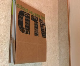 Book Cover Out of a Paper Bag