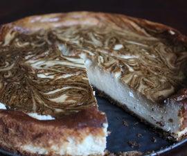 Molasses Marble Cheesecake