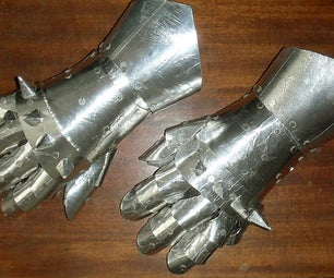 Costume Gauntlets for Less Than a Fiver.