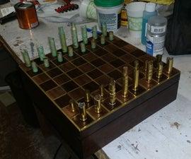 Gun Shell Chess Set