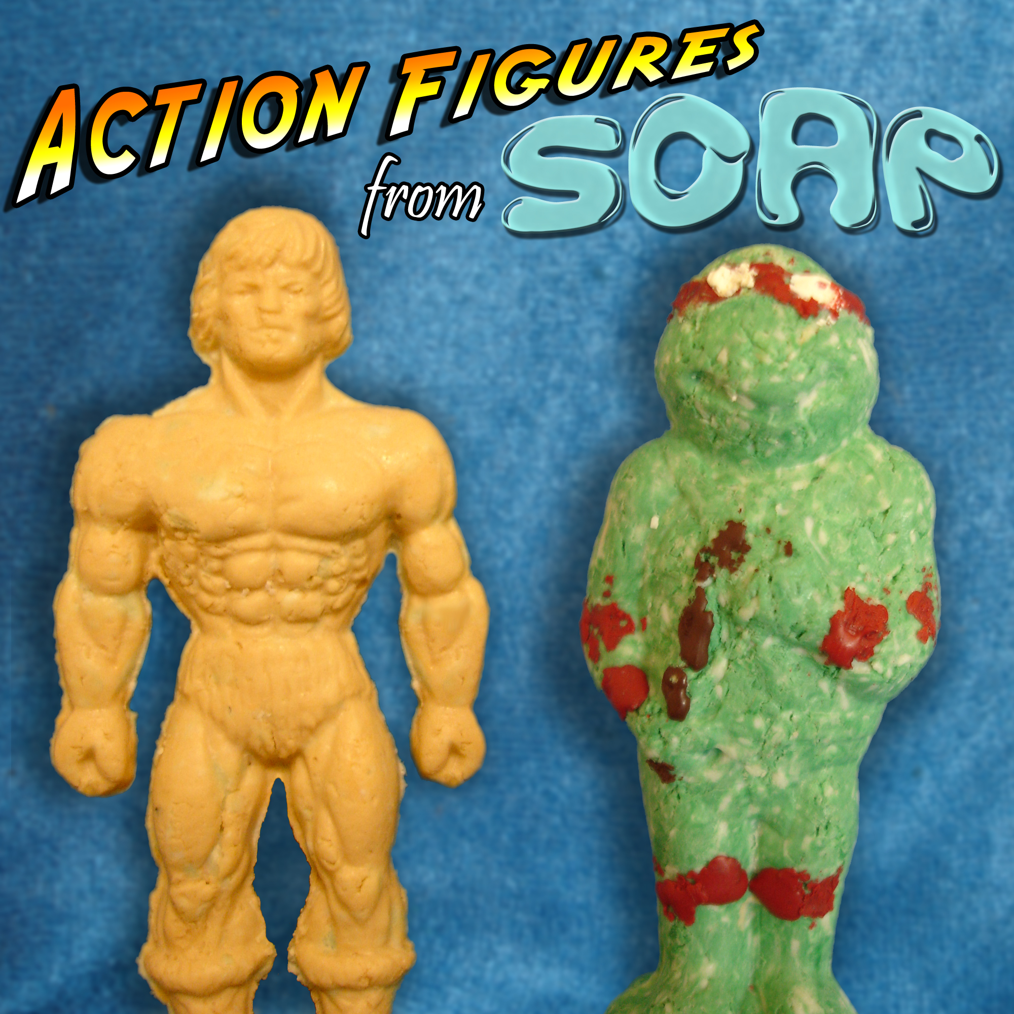 Picture of Make Action Figures From Soap