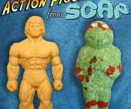 Make Action Figures from Soap
