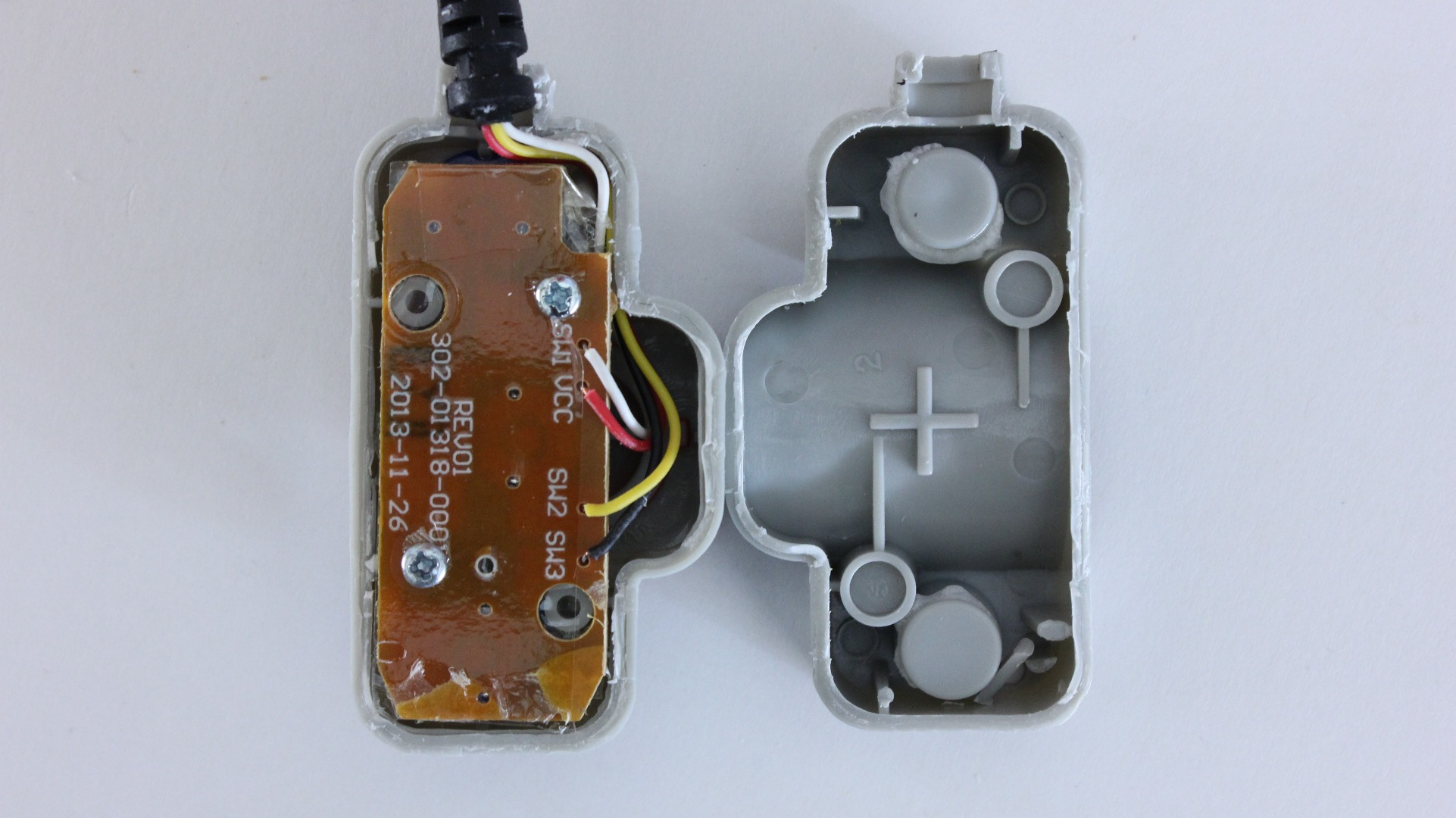 Picture of Open the Housing and Locate the Firing Switch