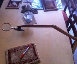 Magnifying Glass Holder
