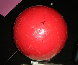 Duct Tape Inflatable Ball