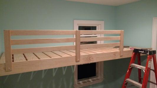 Fascia, Decking, Railing, and Ladder