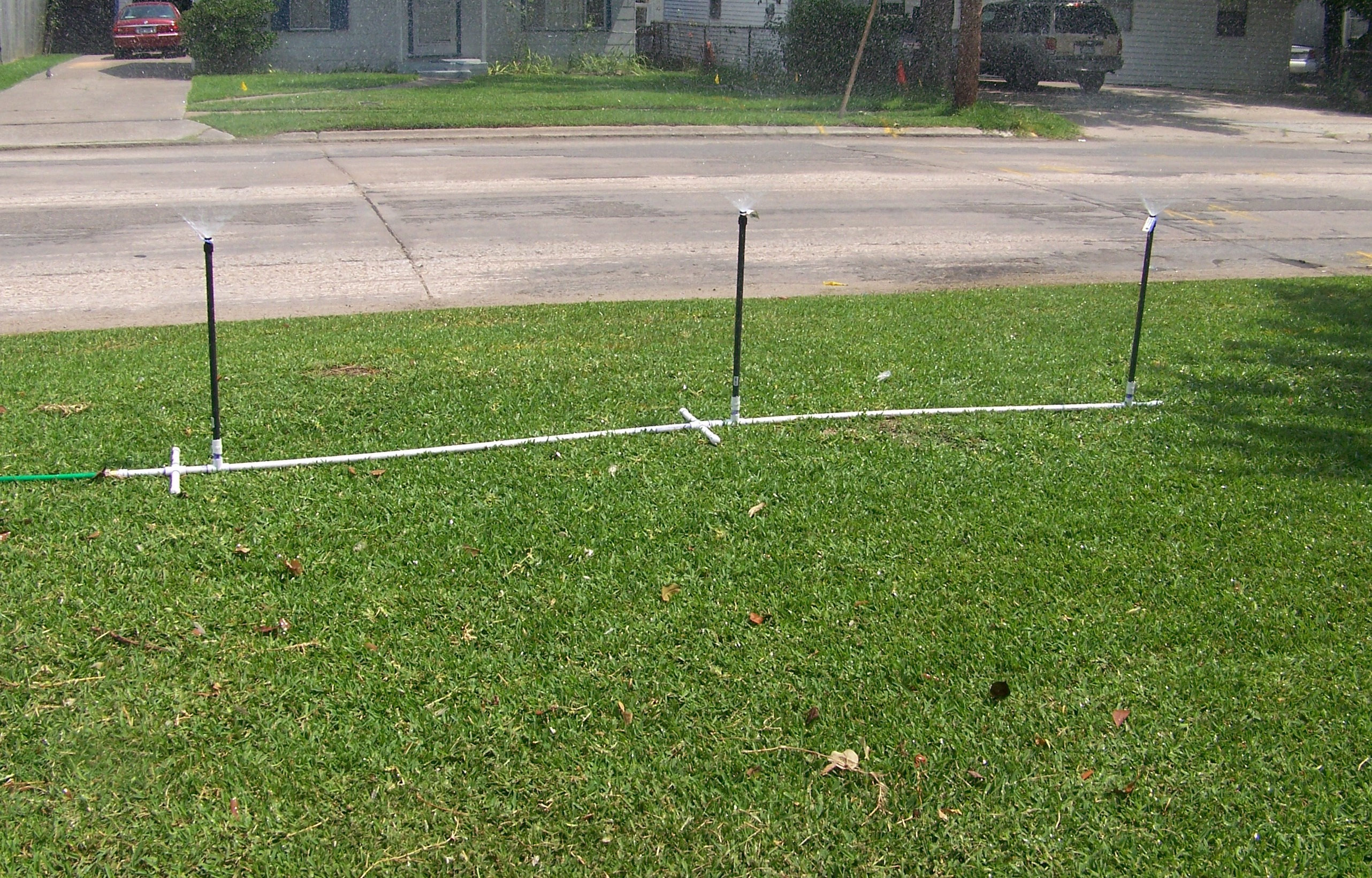 Picture of Inexpensive and Portable Sprinkler System
