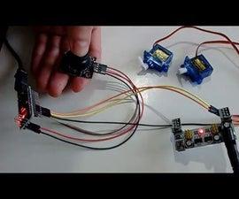 Arduino Nano and Visuino: Control Servos with Joystick