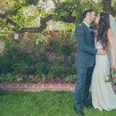 改变一个DIY婚礼的后院