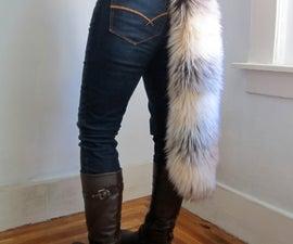 faux fur tail