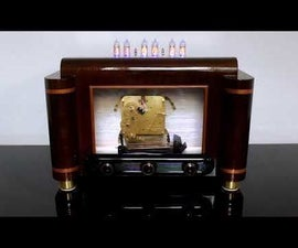 Nixie Clock With Westminster Chimes