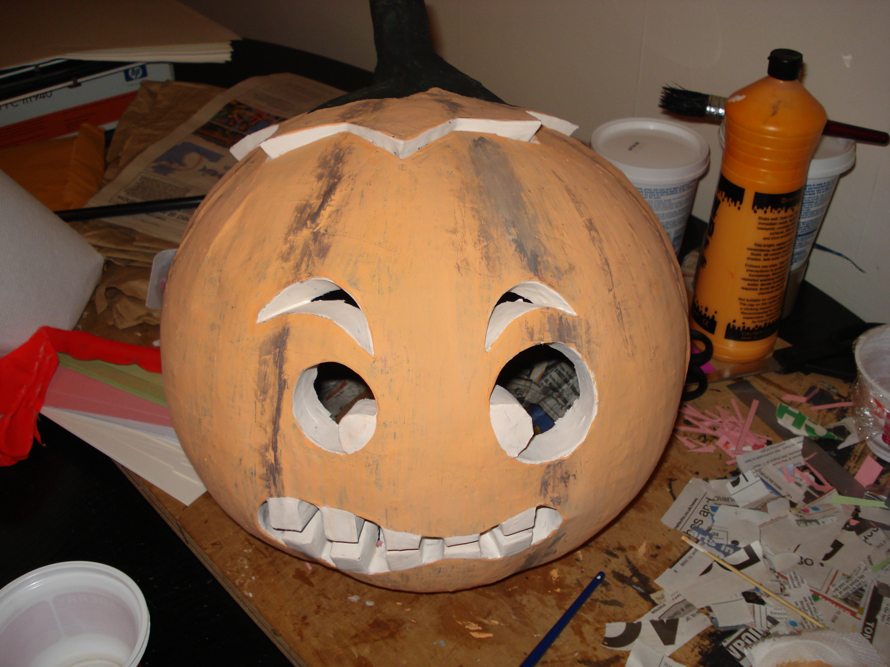 Picture of Painting the Pumpkin