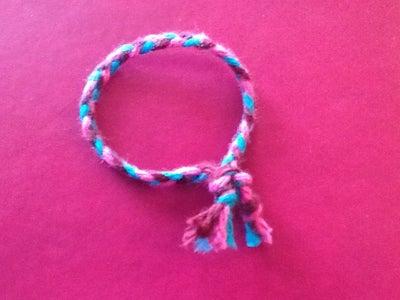 Simple Braided Bracelet!