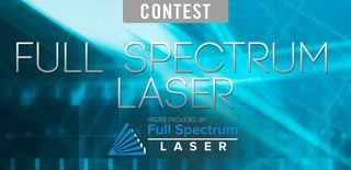Full Spectrum Laser Contest 2016