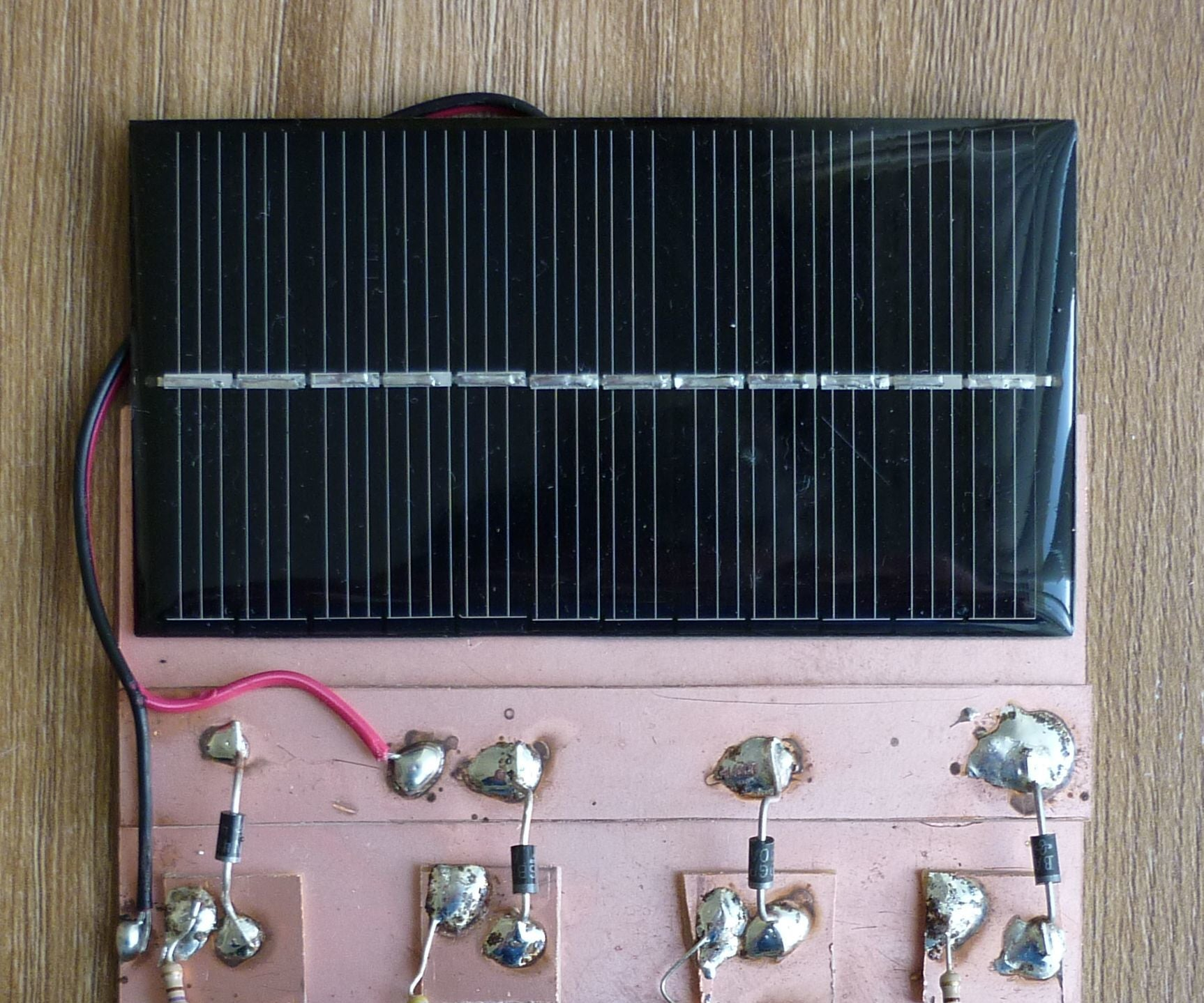 A Simple Solar Charger For Nickel Metal Hydride And Alkaline Aa Battery Schematic Cells 6 Steps With Pictures