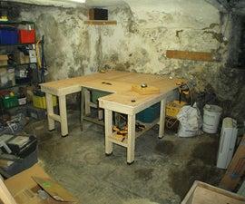 Multi-Purpose Woodworking Bench