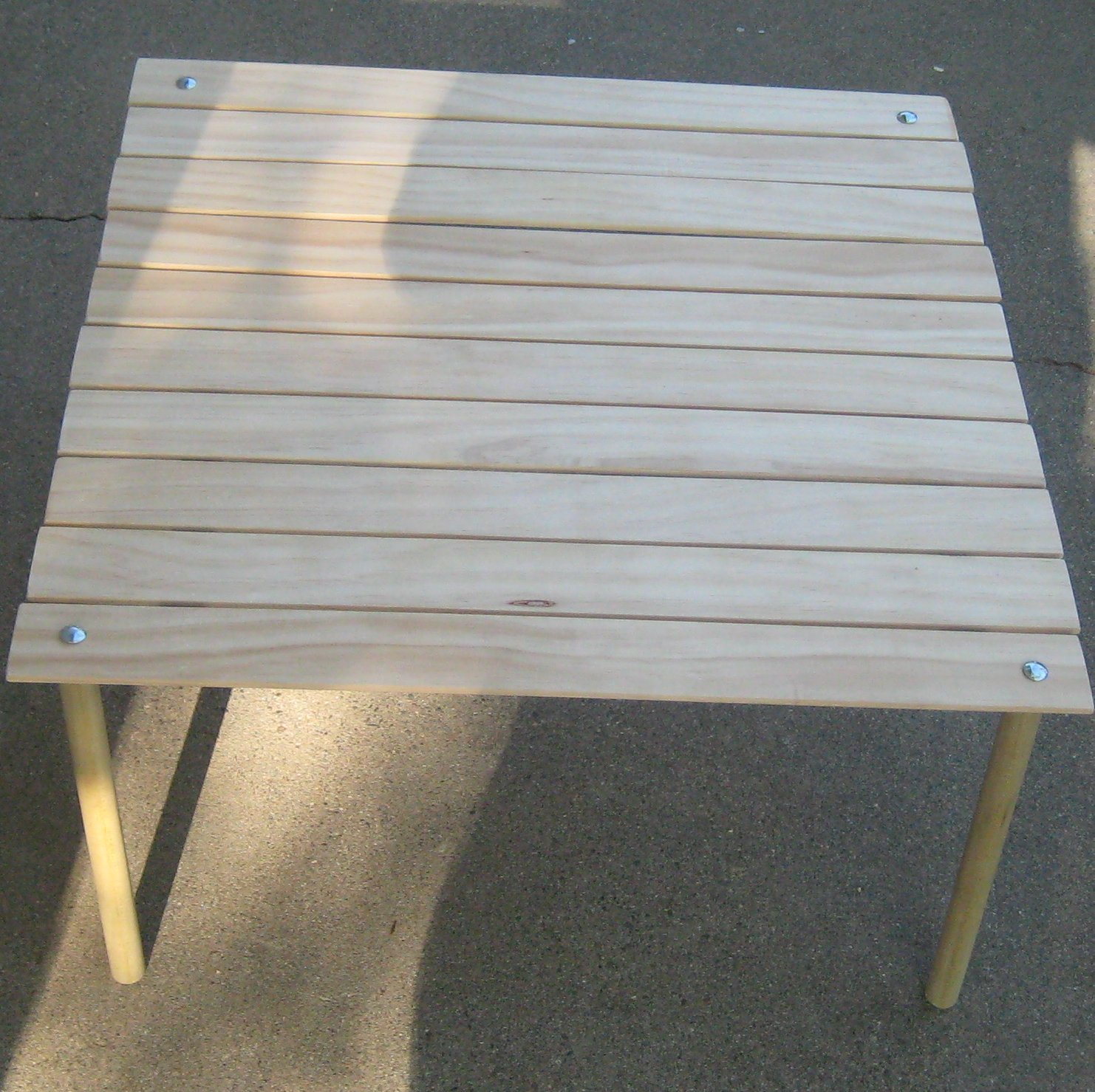 Picture of Make a Collapsable Table for Concerts in the Park!