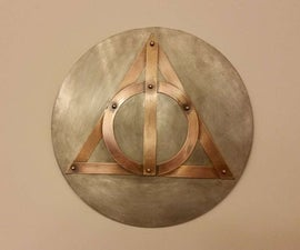 Simple Sheetmetal Wall Art with an Olive Oil Finish